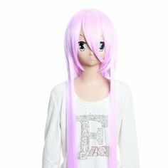 Cosplay Wigs Vocaloid TYPE-H GaKupo Beatiful Long Straight Pink Cosplay Wigs Party Wigs Costume Wigs for Girls and Momen by GOOACTION. $38.28. Color : AS PICTURE ,Color Shown: (Color may vary by monitor.). Material : High temperature wire. Length :about 35.43 inch. Package:1 PCS. Hair Style: Cosplay Wigs. Brand: GOOACTION Recommended features: 1. Super natural wig , suitable for almost every lady aged from teenagers to adults. 2. With the high technology, Miss Beauty ...