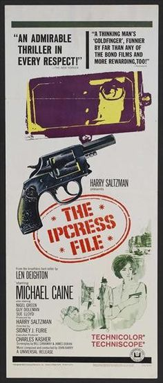 The Ipcress File Poster Movie Poster