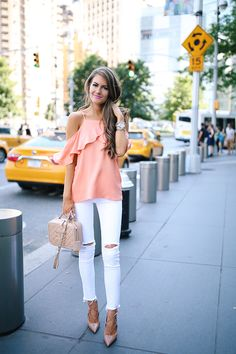 Peach Tones in NYC