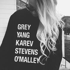 Grey's Anatomy Sweatshirt | 12 College Graduation Gifts for Future Med Students | http://www.hercampus.com/life/campus-life/12-college-graduation-gifts-future-med-students