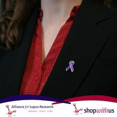 Get your Lupus Awareness lapel pin in our online store! Wear it year round to spread lupus awareness or use them as prizes for your top fundraising Walk team members! Lupus Awareness, Team Member, Autoimmune Disease, Lapel Pins, Fundraising, The Cure, Store, How To Wear, Fashion