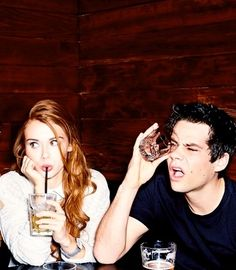 I don't know why, but I love this photo of Dylan & Holland. He's hilarious…