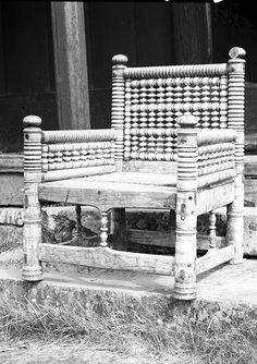 The turned chair from Urnes Stavkirke, around AD1200.