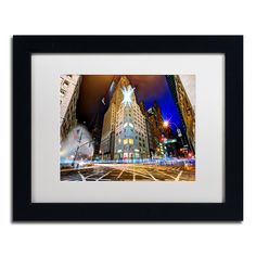 'Christmas in New York' by David Ayash Framed Photographic Print