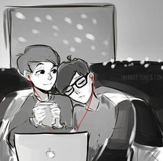 Dan and Phil phanart