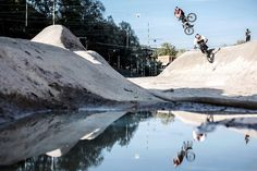 BMX on dried Riverbed. Paul Thölen, Daniel Wedemeijer and the making of one of the BMX productions of the year.