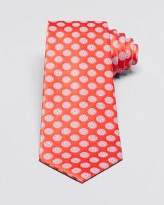 Valentino Large Flower Medallion Classic Tie