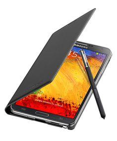 Samsung Galaxy Note 3 N9005 Wallet Flip Cover EF-WN900BBEGWW Zwart