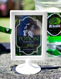 Spells and Potions Halloween: Creepy Jars & Candy Labels {Free Printables}