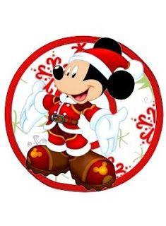 Alfabeto Navide�o de personajes Disney.                                                                                                                                                                                 Más