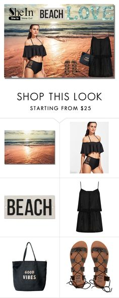 """Untitled #2400"" by katyachanelfan ❤ liked on Polyvore featuring HomArt, ELIZABETH HURLEY beach, Venus and Billabong"
