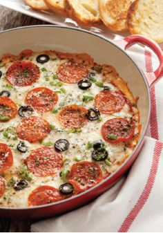 Pizza Dip – This appetizer recipe is not only delicious, but also incredibly easy!