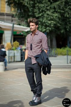 Mariano Di Vaio Street Style Street Fashion by STYLEDUMONDE Street Style Street Fashion blog