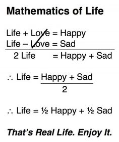 Mathematics of Life Using Systems of Equations...LOVE IT!!!!  Yes...I'm a math geek.  :)
