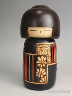 """ Kokeshi"" dolls in japan"