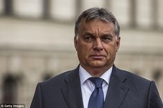 Viktor Orban's (pictured) Hungarian government opposes the EU's migrant quota scheme and has launched a website claiming Europe has  'no go' areas where authorities have lost control of immigrant populations