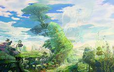 Environment Artwork - Characters & Art - Blade & Soul