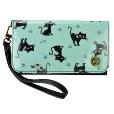 Linda Smartphone Clutch Wristlet Wallet Case - 127 -