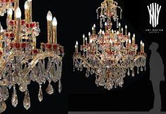 Crystal Chandeliers, Contemporary Chandelier, Lighting Solutions, Luster, Lighting Design, Swarovski Crystals, Ceiling Lights, Glass, Modern