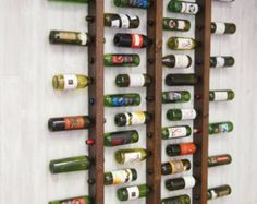 Wine Rack 16 Bottle Ladders - Set of 3