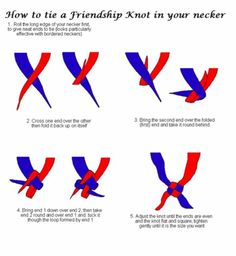 ways of firestarting for Boy Scouts | This knot is often used by Scouts to secure the neckerchiefs, instead ...