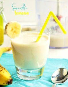 Recette de smoothie banane / Banana smoothie recipe