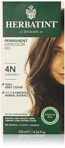 Herbatint Permanent Herbal Haircolor Gel Chestnut 456 Ounce * See this great product.