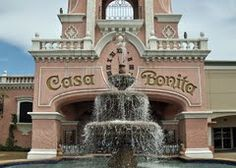 Casa Bonita! Number 3 Coolest Restaraunt in US.  People dive into water while you eat mexican food.  I've experienced now you should.