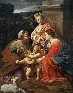 Simon Vouet Los Inicios del barroco en Francia