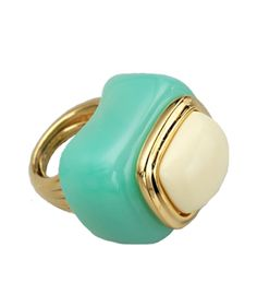 Kenneth Jay Lane Turquoise Cocktail Ring