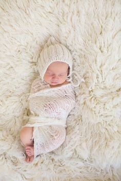 soft newborn photo