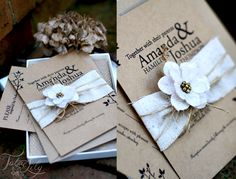 free rustic wedding invitation template | ... : Letters to Lillian : Rustic Wedding Invitation branch and orchid