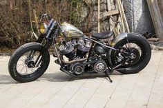 Bobber Inspiration | Shovelhead bobber | Bobbers and Custom Motorcycles