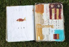 Oliver Jeffers Sketch Book 1 (2003-2005) #art #illustrations #paintings