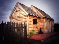 Www.deboomkamer.be Poolhouse, eikenhout, overdekt terras, tuinberging, landelijk tuinhuis, bijgebouw, carport paardenstallen.