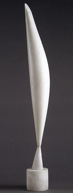 White - sculpture - Constantin Brancusi - Bird in Space, marble… Brancusi Sculpture, Art Sculpture, Abstract Sculpture, Stone Sculpture, Constantin Brancusi, Modern Art, Contemporary Art, Alexander Calder, Art Moderne