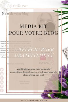 July On The Moon : blog photographie media kit telecharger gratuit