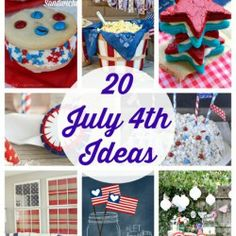 20 July 4th Ideas