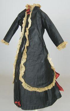 Antique French Fashion Doll Dress