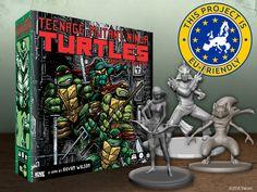 A miniatures-based, sewer-crawling adventure featuring the Teenage Mutant Ninja Turtles!