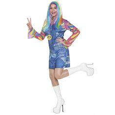 Disfraz de Hippie Vaquera Adulto #carnaval #novedades2016