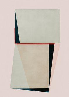 Abstract composition 561 modern art minimal art by jesusperea