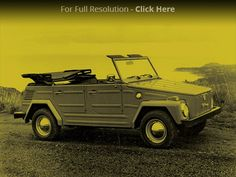 Collectible Classic: 1973-74 Volkswagen Thing - Latest News and Features - Automobile Magazine