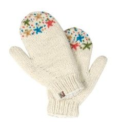 Turtle Fur Artisan Made - Isha, Hand Knit in Nepal, 100% Wool, Fleece Lined, Embroidered Mittens, White by TurtleFur. $26.99. Artisan Made Nepal Knits. 100% Wool. Hand Wash Cold Lay Flat to Dry. Size: ADULT also fits Juniors and Teens. Regular fit. and colorful yarns 100% Wool Individually Hand Knit in Nepal Lined with fleece fro extra comfort. textured stitches. Features hand-embroidery. We work hand in hand with knitters in the mountains of Nepal to hand knit our Artisan...