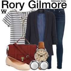 Inspired by Alexis Bledel as Rory Gilmore on Gilmore Girls.                                                                                                                                                     More