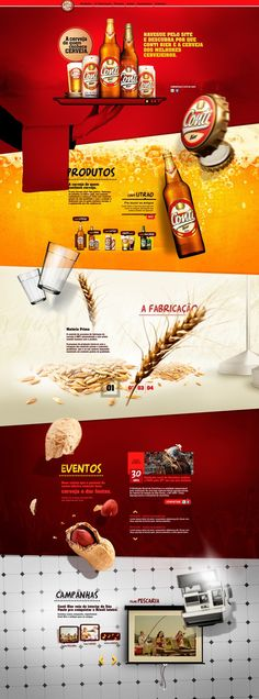 beer  26 great web designs to get inspired by | From up North