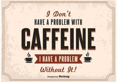 Free vector Typography Coffee Poster #32937