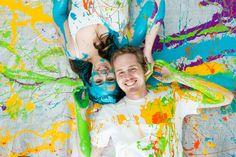 Paint Engagement Shoot!