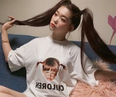 Mystic Girls, Japan Girl, Pretty People, Ulzzang, My Girl, Idol, T Shirts For Women, Cute, Beauty