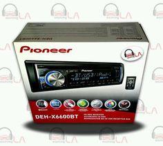 Sourcing-LA: Pioneer DEH-X6600BT CD MP3 USB Indash Car Audio Re...